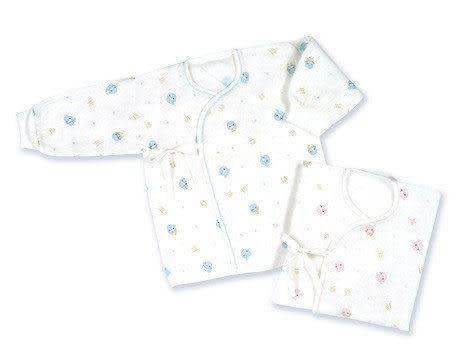 【奇買親子購物網】酷咕鴨KU.KU. 滿底束口紗布肚衣(藍色/粉色)