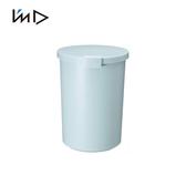 【 岩谷Iwatani 】圓形可分類密封防臭垃圾桶12 4L 藍