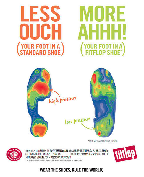【FitFlop】FINO QUARTZ TOE-THONGS(午夜藍)