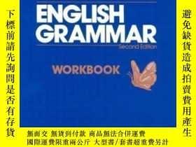 二手書博民逛書店Understanding罕見And Using English Grammar: Combined Workbo