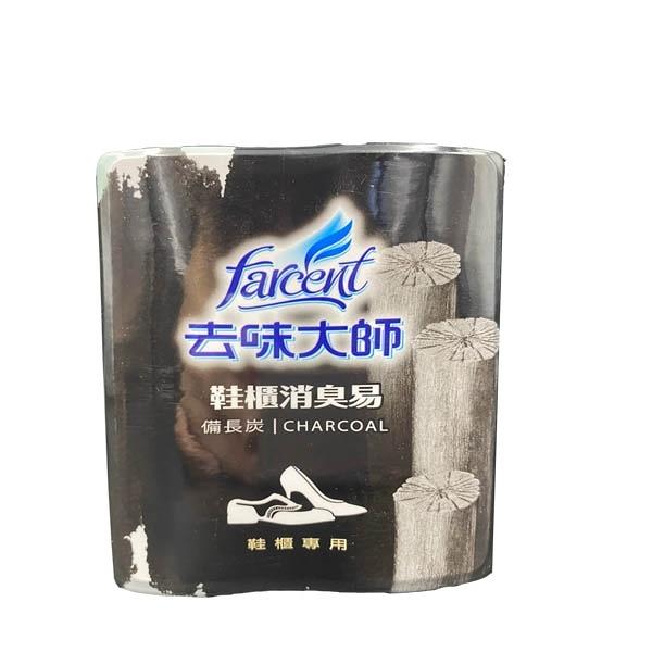 去味大師鞋櫃專用消臭易(2入裝)-備長炭