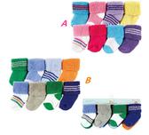 [Mamae] (8雙/組)美國 Luvable Friends初生嬰兒必備套裝組 棉質寶寶襪子 出生嬰兒幼兒襪子