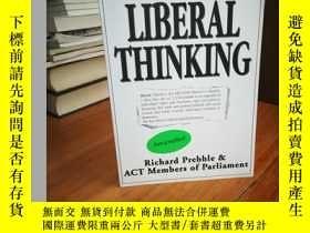二手書博民逛書店Liberal罕見Thinking 自由思想Y12800 ACT