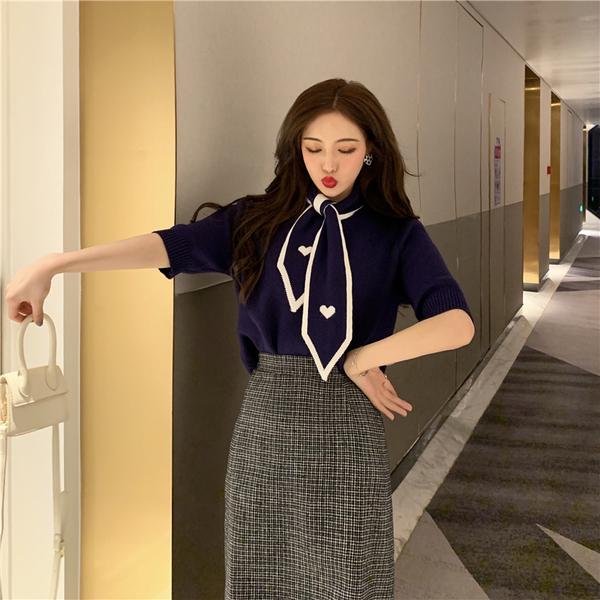 清倉288 韓國風百搭慵懶風針織毛衫長袖上衣