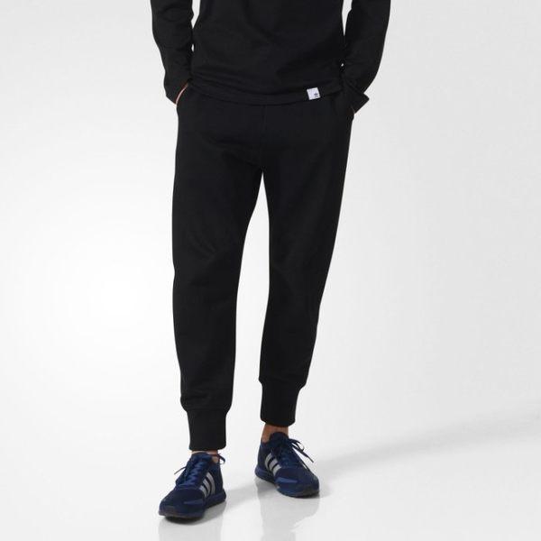 adidas Originals 愛迪達 XBYO 黑色 縮口褲 運動長褲 棉褲 BQ3108