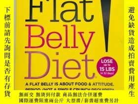 二手書博民逛書店Flat罕見Belly Diet! 英文原版《扁平的腹部飲食!》