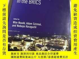 二手書博民逛書店strutural罕見change and lndustrial development in the brics