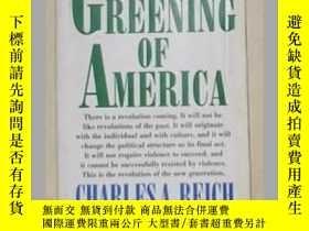 二手書博民逛書店《罕見The Greening of America 》Char