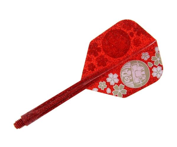 【CONDOR】 DARUMA Migo Wong Model Small Long Lame Red 鏢翼 DARTS