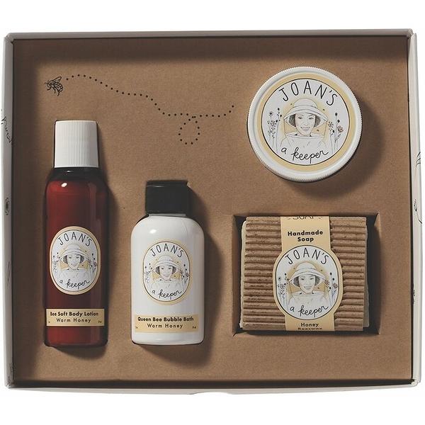JOAN S A KEEPER_天然蜂蜜沐浴旅行禮盒 (綠林芬多精)