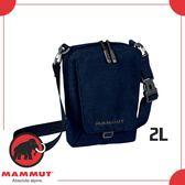 【MAMMUT Tasch Pouch Melange 2L《海洋藍》】2520-00651-5118/側背包/肩背包/休閒背包