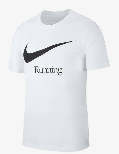 NIKE服飾系列-DRY RUN HBR 男款白色休閒短袖上衣-NO.CK0638100