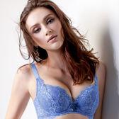 EASY SHOP-峰挺情人 大罩杯C-E罩內衣(湛藍色)