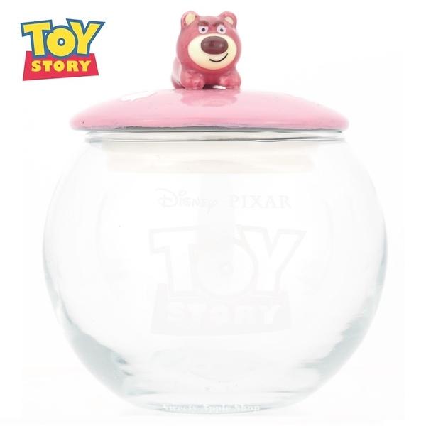 日本限定 迪士尼 玩具總動員 熊抱哥 慵懶版 置物罐 / 收納罐 / 玻璃罐