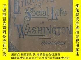 二手書博民逛書店etiquette罕見of social life in was