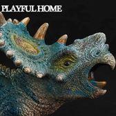恐龍模型仿真玩具厚鼻龍尖角龍大號兒童侏羅紀超【全館滿888限時88折】