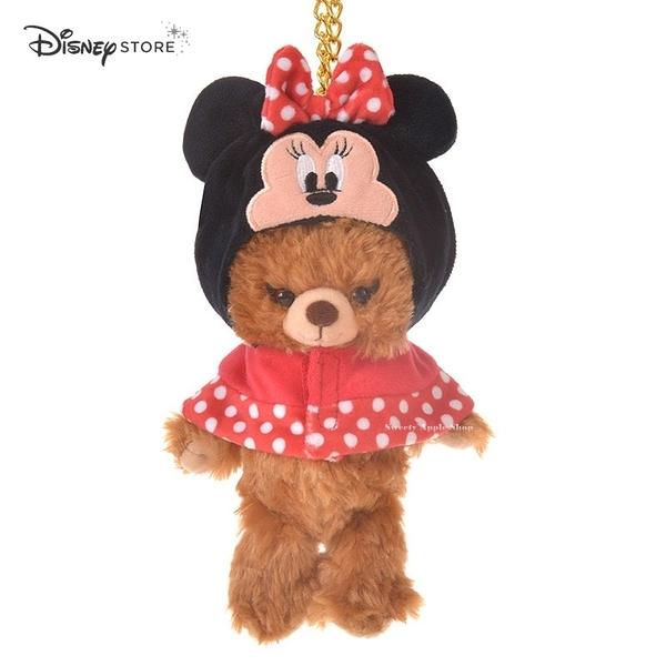 日本限定 Disney Store 迪士尼 大學熊系列  米妮 吊飾玩偶專用 衣物配件