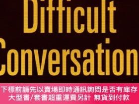 二手書博民逛書店Difficult罕見Conversations-How to Discuss what Matters Most