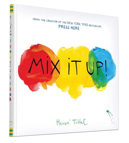 【麥克書店】MIX IT UP /精裝繪本(中譯:彩色點點)《主題: 幽默.創意.想像》.