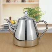 三洽 不銹鋼茶壺泡茶壺燒水壺 可帶濾網 餐廳茶水壺 電磁爐水壺 【全館免運】