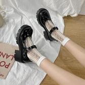 lolita鞋jk制服鞋日系瑪麗珍高跟厚底小皮鞋女2020新款軟妹lolita洛麗塔鞋 衣間迷你屋