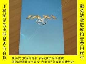 二手書博民逛書店的士速遞4罕見Taxi 4 電影場刊Y178456 呂克·貝鬆