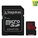 Kingston 128GB 128G microSDXC【100MB/s】microSD SD SDXC U3 4K V30 SDCR/128GB 金士頓 手機記憶卡