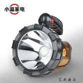超亮充電LED大手電筒野營手提燈