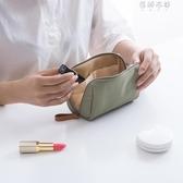 韓國化妝包簡約淑女迷你洗漱包防水小號便攜手拿隨身旅行收納包袋YYP 蓓娜衣都