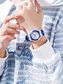 兒童手錶男童防水防摔靜音只看時間五六年級小學生男女孩清晰數字 奇妙商鋪