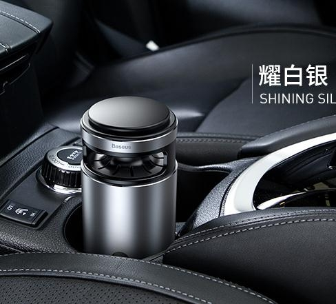 空氣淨化器 倍思車載空氣凈化器汽車用帶香水車內除甲醛消除異味去味負離子  夢藝家