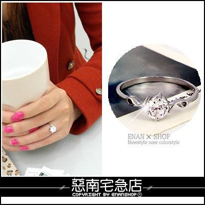 惡南宅急店【0238C】首爾漫遊‧高級合金戒指『求婚吧!』專屬女生款‧單戒價