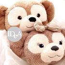 迪士尼 達菲熊抱枕 雪莉 靠枕 午睡枕 ...