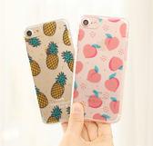 韓國 滿版水果 透明軟殼 手機殼│S6 Edge Plus S7 S8 S9 Note3 Neo Note4 Note5 Note8│z7972