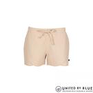 United by Blue 女棉麻短褲 202-003 Foothills Drawstring Short / 城市綠洲 (短褲、有機棉、美國)
