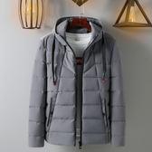 韓版男士帥氣面包服 新款型男時尚冬季外套 男款冬天加絨個性棉服 男生冬天加厚保暖潮外衣