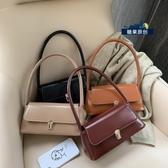 手提包2020上新洋氣質感女包新款時尚流行包包純色港風側背手提小包 小天使