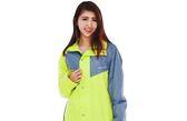 [東門城] M2R M9 二件式雨衣 螢光黃 魔鬼沾設計 反光條