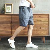 短褲 水洗做舊工裝牛仔短褲男寬鬆休閒韓版夏天潮流男士五分褲嘻哈潮牌 瑪麗蘇精品鞋包