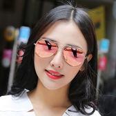 太陽鏡太陽鏡女眼鏡車圓臉明星同款個性太陽鏡2019新品韓國情侶潮男