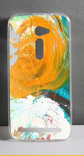 ♥ 俏魔女美人館 ♥ ASUS 華碩5吋 Zenfone 2 /ZE500CL {彩色油畫*軟殼} 手機殼 手機套 保護套 保護殼