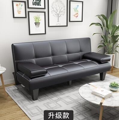 懶人沙發 多功能皮沙發床客廳可折疊懶人沙發三位2米椅辦公陽臺小戶型【快速出貨好康八折】