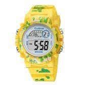 2018兒童電子手錶防水男學生8-13歲髮光卡通玩具錶男童女童禮物錶 范思蓮恩