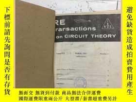 二手書博民逛書店IRE罕見transactions on circuit the