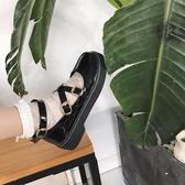 松糕鞋女日系jK制服鞋原宿圓頭小皮鞋厚底軟妹鞋子學院娃娃單鞋女 嬌糖小屋