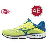 MIZUNO 20SSO 4E超寬楦一般型 男慢跑鞋 WAVE RIDER 23系列 J1GC190429 贈1襪