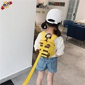 兒童防走失包 防走失背包牽引繩2-3歲4新款園雙肩書包帆布男女兒童包包