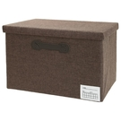 附蓋整理盒 收納盒 FAB 寬高型 DBR NITORI宜得利家居