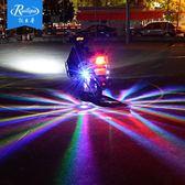 銳立普12v彩燈摩托車底盤燈改裝鬼火車燈改裝爆閃燈裝飾燈七彩小明同學