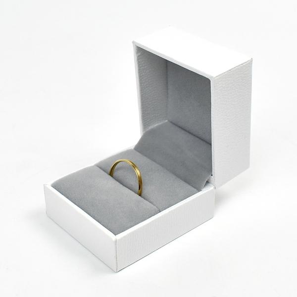戒指盒 純粹白飾品禮盒【NAWA29】